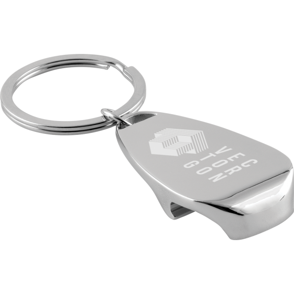 Dallas Bottle Opener Keyring