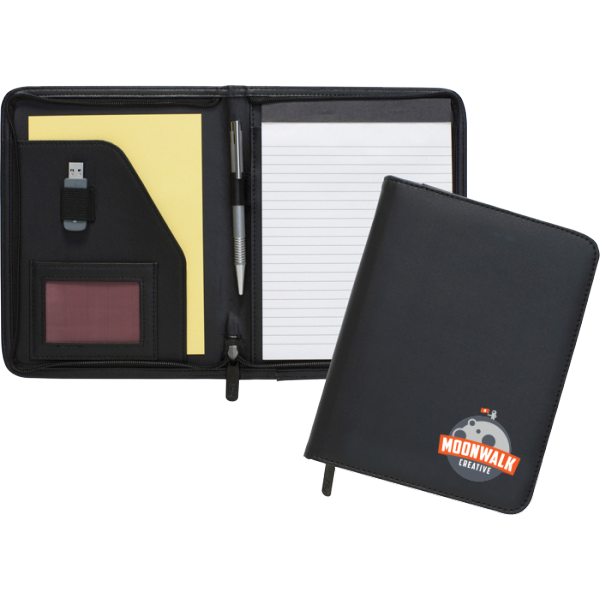 Dartmouth A5 Conference Folder - Zipped