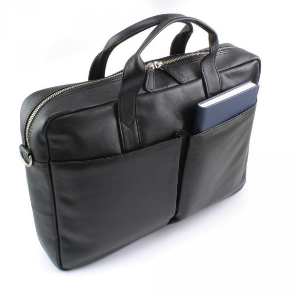 Sandringham Nappa Leather Commuter Bag